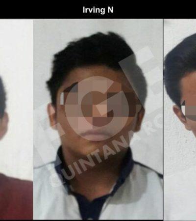 Capturan a tres presuntos 'narcos' en la SM 526 de Cancún