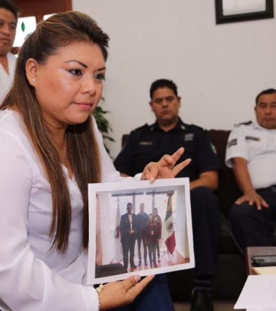 PIDEN A POLICÍAS QUE CUMPLAN SU LABOR EN TULUM: Advierte Alcaldesa Romi Dzul que ella cumplirá con su deber, pero no atenderá plantones infundados