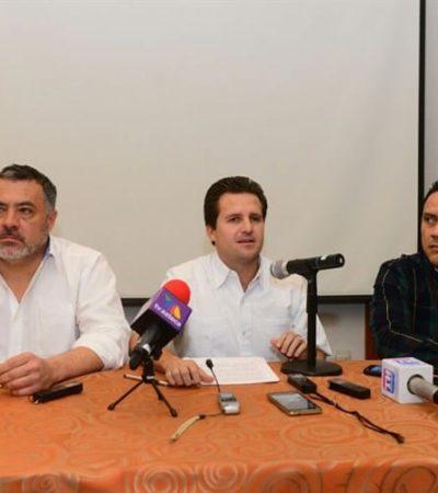INVESTIGAN REDES DE 'BETO' EN TABASCO: Dice Gerardo Gaudiano que vinculación con Borge es parte de una 'guerra sucia'