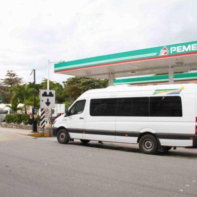 Reubican en Puerto Morelos paradero de vans de la ruta Cancún-Playa