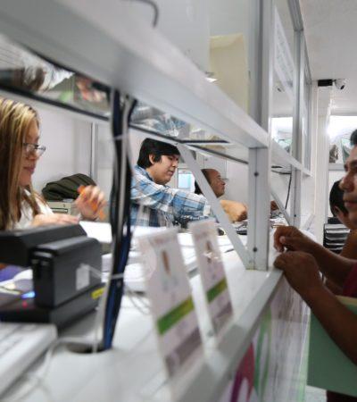 Mantienen acciones de simplificación administrativa para apoyar a contribuyentes y empresas en Cancún