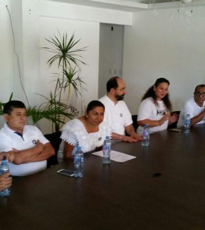 Presentan aspirantes su intención de buscar la presidencias municipales por la vía independiente