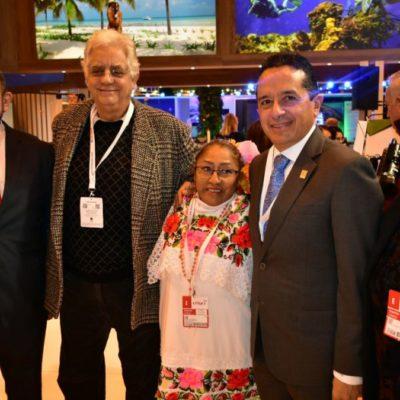 Quintana Roo refrenda su liderazgo turístico en FITUR 2018, asegura Carlos Joaquín