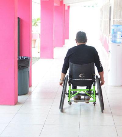 Atienden a más de 7 mil cancunenses en el Centro de Atención a la Discapacidad