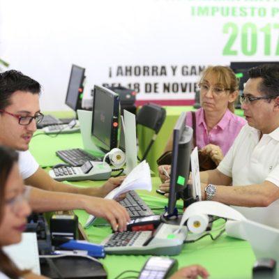 Más de 86 mil 200 personas aprovecharon descuentos con pago de predial anticipado en Cancún