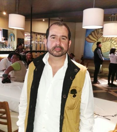 Ventre debiera renunciar al PRD, dice Aguilar Osorio
