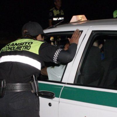 Diciembre dejó más de 400 detenidos por alcoholemia en Cancún