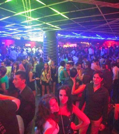 El pasado fin de semana le fue restringido el acceso a 550 menores de edad a centros nocturnos y discotecas de zona hotelera de Cancún