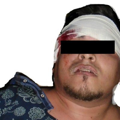 Detienen a hombre en Cancún por efectuar disparos