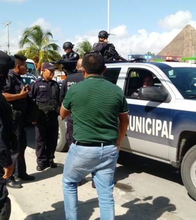 Le roban más de 350 mil pesos a cuentahabiente de banco en Playa del Carmen
