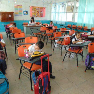 Nivel preescolar registra mayor ausentismo a consecuencia de las lluvias y reunión sindical del SNTE