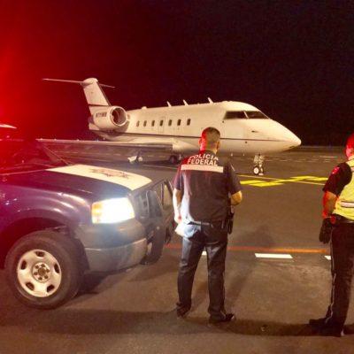 ASEGURAN OTRA AERONAVE, AHORA EN COZUMEL: El avión privado tenía un número de serie distinto al manifestado en su certificado de navegación