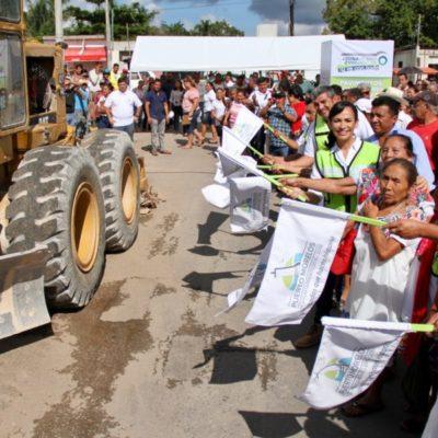 Invirtieron 80 mdp en 25 obras en Puerto Morelos durante el 2017; para el 2018 destinarían otros 100 mdp