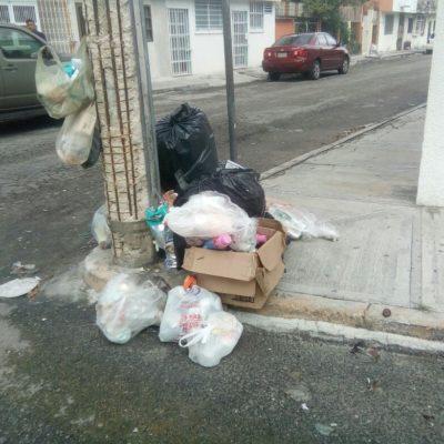 Admiten 'focos rojos' en recolección de basura en Cancún