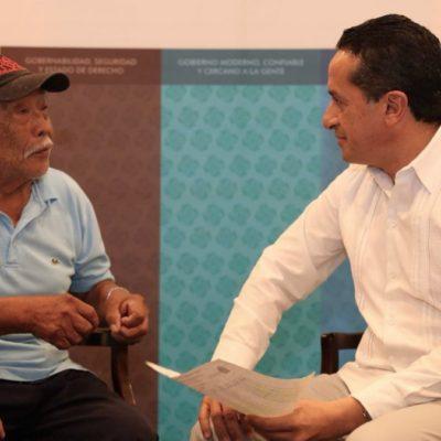 """AUDIENCIA PÚBLICA EN COZUMEL: Dice Carlos Joaquín que desigualdades aumentaron en los últimos años por """"gobiernos corruptos que  usaron los recursos de la gente en beneficio de un grupo de privilegiados"""""""