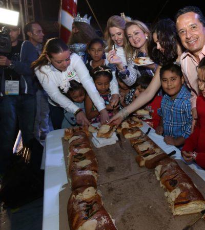 Encabeza Gobernador Festival de Día de Reyes en Cancún
