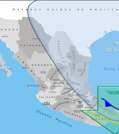 SEGUIRÁN LAS BAJAS TEMPERATURAS: Frente frío número 24 afectará al territorio quintanarroense