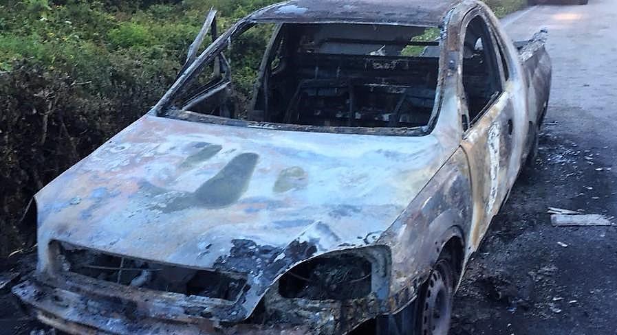Persona muere calcinada en el interior de un auto en la Zona Maya