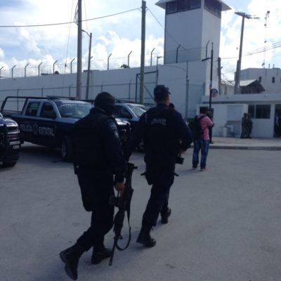 Incautan drogas y celulares en Cárcel de Cancún