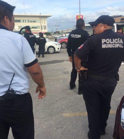 Ministeriales armados siembran miedo en Centro Maya de Playa