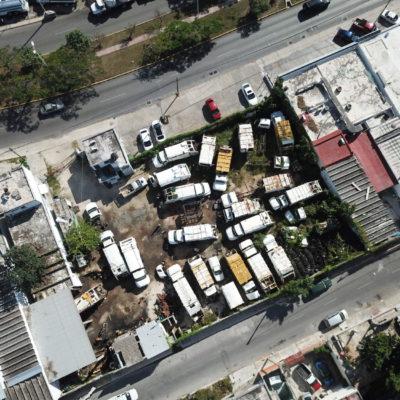 LA BASURA REBASA A CANCÚN: Mientras la ciudad padece deficiente recolección de desechos, más de 20 camiones recolectores se pudren en un encierro | VIDEO