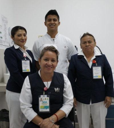 Al paciente con cariño… enfermeras celebran su día   VIDEO