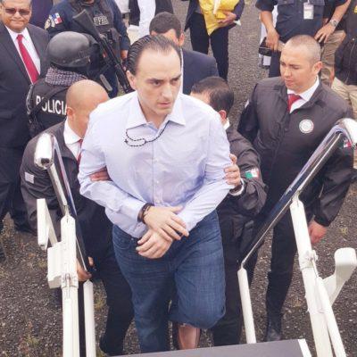 VINCULAN A PROCESO A BORGE: Ex Gobernador permanecerá en el Ceferepsi de Morelos, donde estuvo Mario Villanueva; Fiscalía de QR alista 3 órdenes de aprehensión y seguirá proceso por medios electrónicos