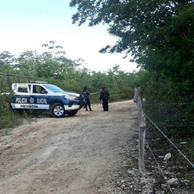 Aparece en la Ruta de los Cenotes el primer ejecutado del año de Puerto Morelos