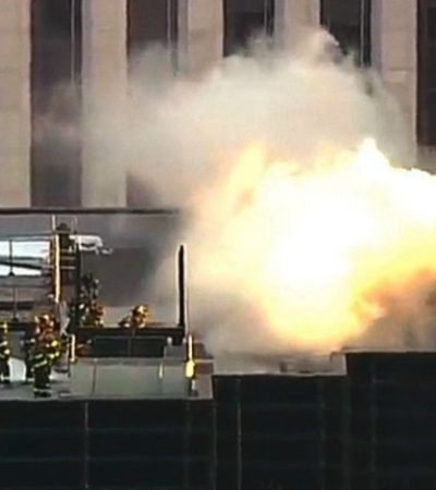 Controlan incendio en la Torre Trump de Nueva York