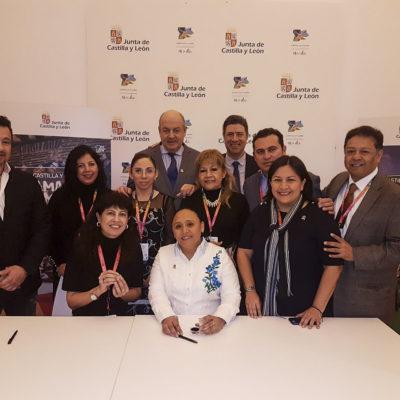 Firman Solidaridad y Valladolid Protocolo de Entendimiento para compartir y aplicar experiencias exitosas en educación, economía, participación ciudadana, seguridad pública, turismo y desarrollo social