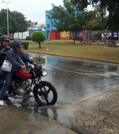 Ingresa frente frío a la Península de Yucatán