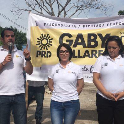 Arranca Gaby Pallares precampaña por el IV Distrito