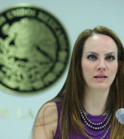 Renuncia senadora Gabriela Cuevas al PAN para apoyar a López Obraror y perfilarse como candidata de la Miguel Hidalgo