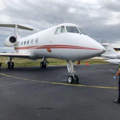 Aseguran aeronave extranjera en Cancún