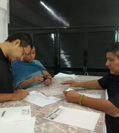 Ley electoral pone trabas a independientes, diceJavier Aguilar Duarte al solicitar su registro por Solidaridad