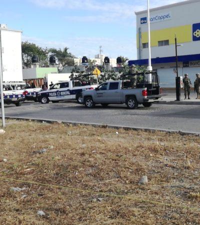 Falsa alarma de decapitado moviliza acuerpos policiacos, pero sólo hallan 'narcomanta' en Cancún