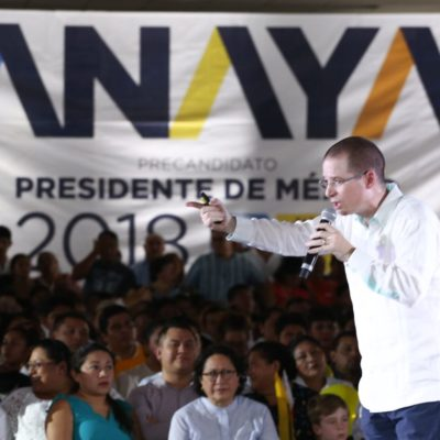 LE PEGA ANAYA A MEADE Y AMLO: Se burla candidato del 'Frente' del mensaje anticorrupción del priísta y de Morena por reclutar a borgistas