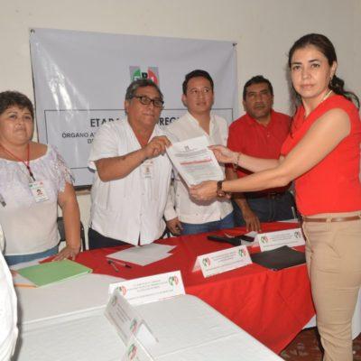 Se registran tres aspirantes por el PRI en José María Morelos
