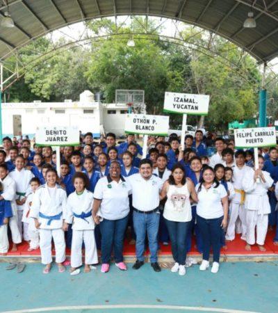 Realizan en Tulum el Clasificatorio Nacional del Selectivo Estatal de Judo rumbo a las Olimpiada Nacional y Nacional Juvenil 2018