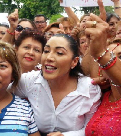 """YO NO FORMÉ PARTE DE ESA HISTORIA"": No me avergüenza ser priista, dice Candy Ayuso sobre Borge al registrarse para diputada federal"