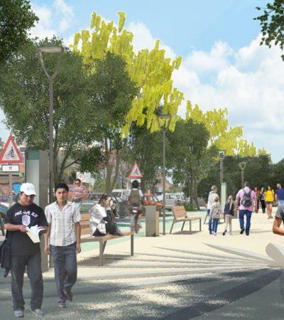 Pide Ayuntamiento a ciudadanos contribuir en la obra de imagen urbana en Tulum
