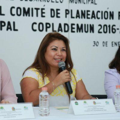 Celebran Sexta Sesión Ordinaria del Coplademun en Tulum