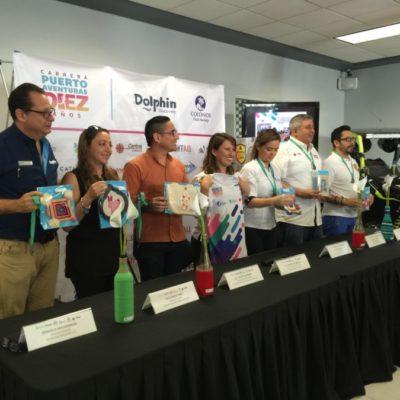Organizan carrera altruista en Puerto Aventuras