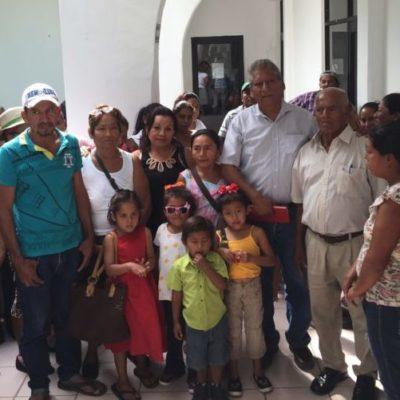 Piden mejores servicios familias de 'El Fortín' en Cancún