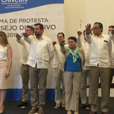 EL RETO DE CANCÚN ES LA SEGURIDAD: Rinde protesta nueva directiva de la Asociación de Hoteles de Cancún y se pronuncian a favor de Uber y en contra de Airbnb
