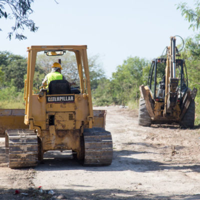 Inician trabajos para abrir nuevo tramo de la Avenida Chemuyil en Playa del Carmen