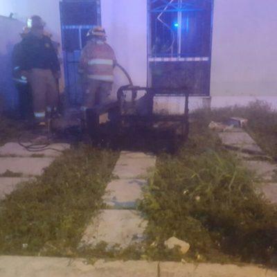 Descuido provoca incendio en vivienda de Playa