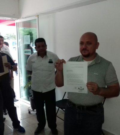 DESBANDADA DE TAXISTAS: Renuncia al PRI Jesús Martín Medina, líder en Playa, junto a más de 50 socios