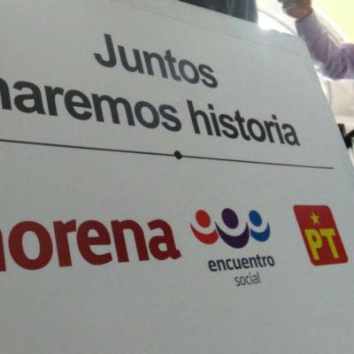 PES y Morena irán aliados en Quintana Roo; PT en el limbo