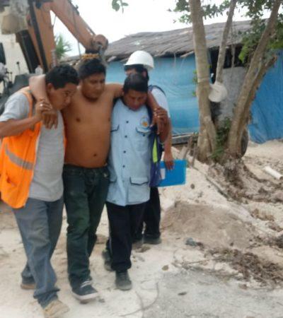 Constructora niega atención médica a obrero